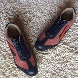 кроссовки красные кожаные мужские ENERGIE
