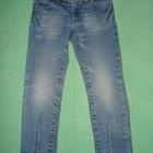 Модные джинсы скинни BENETTON JEANS на девочку 4-5 лет
