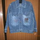 джинсовые куртки, для мальчику в хорошем состояние размер 104 110 116