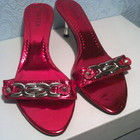 Туфли,балетки,босоножки,сандали лакированные размер 39 фирмы EVITA, б у