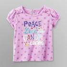 Яркая футболка для девочки из Америки - 3Т, 4Т, 5Т