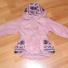 Распродажа - смешные цены. Супер курточки, плащи на флисе на наших принцесс. 80-104см