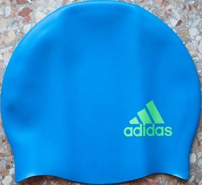 Adidas Silcap Logo Y шапочка для плавания детская голубая
