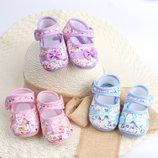 Супер пинетки чешки тапочки для малыша или малышки 3 размера