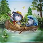 Картина маслом Веселі котики 50х60