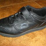 Кожаные кроссовки, школьные туфли Clarcs 30 p.