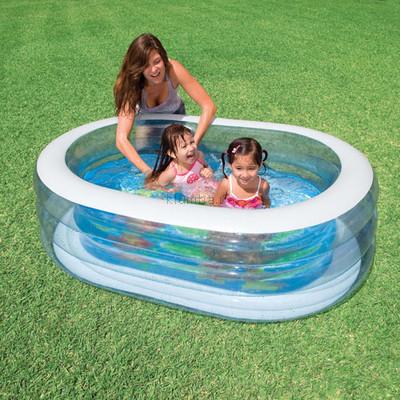 Детский надувной бассейн Intex 57482, 163 107 46