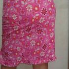 французская юбочка новая р.34 с модным цветочным принтом