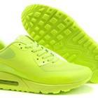 Кроссовки Nike Air Max 90 Hyperfuse - салатовые