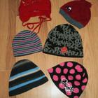 Красивые демисезонные шапки для девочки и мальчика.
