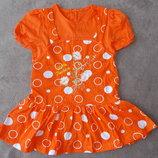 Летние платьица с вышивкой для маленьких модниц
