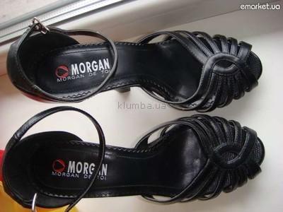 фирменные босоножки Morgan 38-38,5 эко-кожа-лак