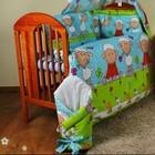 Комплект постельного белья в детскую кроватку -