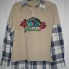 Рубашка-обманка молодежная на подростка 13-14 лет