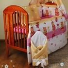 Комплекты постельного белья в кроватку-из 3, 4, 5, 6, 7, 8 элементов