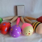 Деревянная игрушка Маракас разных видов