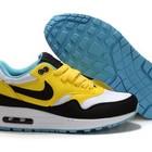 Женские кроссовки Nike Air Max 87 желто-черные