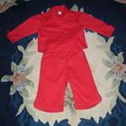 Блузка Adams бриджи Pinktiger красные 5лет