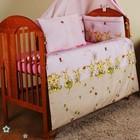 Комплект постельного белья в детскую кроватку из 7 эл. без балдахина