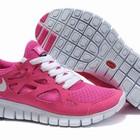 Женские кроссовки Nike Free Run Plus 2 розовые