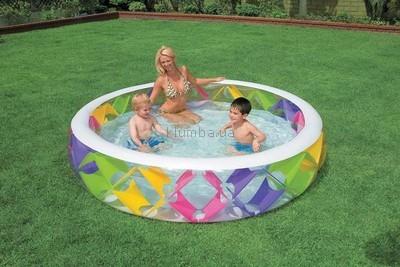 Надувной бассейн Intex 56494. Надувное дно