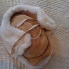 Новая шапочка Италия оригинал Натуральная Овчина, Замша