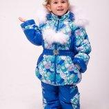 Теплый зимний комбинезон для девочки