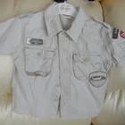 рубашка на мальчика летняя 2 лет отл. сост. обмен