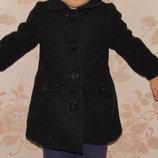 Пальто для девочек 12,18 м, рост 82