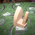 Игрушечный деревянный утюжок