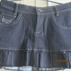 Новая короткая джинсовая юбка