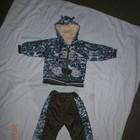 Костюм брюки демисезонный для мальчика, размер 74,80,86