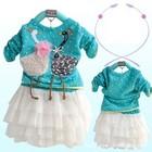 Красивое Нарядное Детское Платье С Длинным Рукавом