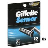 Лезвия Gillette Sensor Excel картриджи 10шт