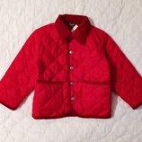 Новая. Стеганная куртка Benetton на 2-3 года. Демисезонная курточка.