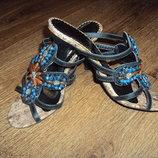 Босоножки на каблуке сабо, мюли р.36 Скидка