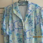 Красивое летнее платье на женщину 48-50 размера