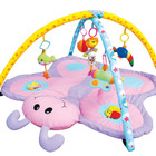 Детский развивающий музыкальный коврик в форме бабочки