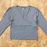 свитер кофта болеро размер S-M жилетка блуза блузка