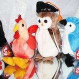 Мягкие игрушки животные с шариками внутри