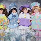Фарфоровые куклы ., Коллекционные, Прекрасный подарок или украшение любой коллекции.