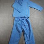 пижама теплая махрушка махра начесная от 1-6 лет новые