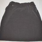 Школьная юбка 6-7 лет серого цвета.