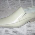 Туфли мужские светлые натур.кожа р. 39