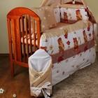 Комплекты постельного белья в детскую кроватку из 6 эл- без балдахина и кармана . Садовник