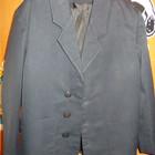 Пиджак школьный синий на сменку, рост 120-128