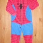Флисовые и трикотажные пижамы Spiderman и Тачки 5-7лет