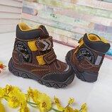 новые зимние ботинки Primigi Gore-tex. разм.20