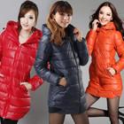 Отличное женское пальто-пуховик р. L-XХL в наличии, 10 цветов.