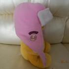 шапка шлем ушанка на девочку 1-2 лет зимняя сост. новой обмен